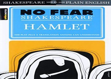 PDF Download Hamlet (Sparknotes No Fear Shakespeare) For Full