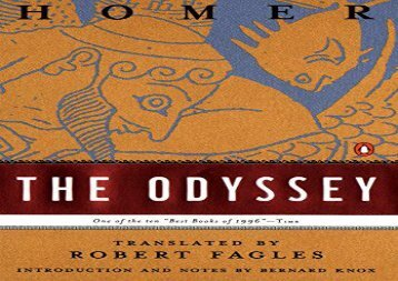 PDF Download The Odyssey (Penguin Classics) Review