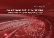 [+]The best book of the month Business Driven Information Systems [PDF]