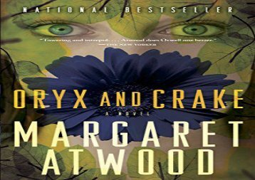 AudioBook Oryx and Crake (Maddaddam Trilogy) Any Format