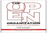 [+][PDF] TOP TREND The Open Organization: Igniting Passion and Performance  [DOWNLOAD]