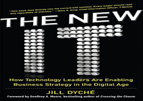 [+]The best book of the month The New IT: How Technology Leaders are Enabling Business Strategy in the Digital Age  [FREE]