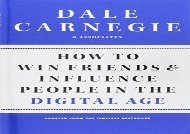 [+][PDF] TOP TREND How to Win Friends and Influence People in the Digital Age  [READ]