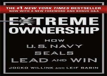 [+][PDF] TOP TREND Extreme Ownership  [DOWNLOAD]