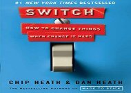 [+][PDF] TOP TREND Switch: How to Change Things When Change Is Hard [PDF]