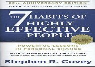 [+][PDF] TOP TREND The 7 Habits of Highly Effective People: Powerful Lessons in Personal Change  [READ]