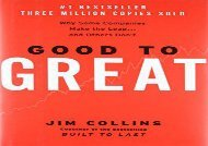 [+][PDF] TOP TREND Good to Great: Why Some Companies Make the Leap...and Others Don t  [NEWS]