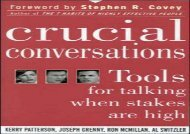 [+]The best book of the month Crucial Conversations: Tools for Talking When Stakes are High [PDF]