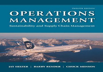 [+][PDF] TOP TREND Operations Management: Sustainability and Supply Chain Management  [NEWS]