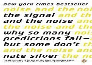 [+]The best book of the month The Signal and the Noise: Why So Many Predictions Fail--But Some Don t  [NEWS]