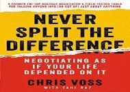 [+]The best book of the month Never Split the Difference: Negotiating as If Your Life Depended on It  [READ]