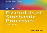 [+]The best book of the month Essentials of Stochastic Processes (Springer Texts in Statistics) [PDF]