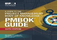 [+][PDF] TOP TREND A guide to the Project Management Body of Knowledge (PMBOK guide) (PMBOK Guides) [PDF]