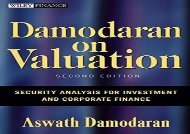 [+]The best book of the month Damodaran on Valuation 2E: Security Analysis for Investment and Corporate Finance (Wiley Finance) [PDF]