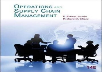 [+][PDF] TOP TREND Operations and Supply Chain Management (McGraw-Hill/Irwin Series Operations and Decision Sciences)  [READ]