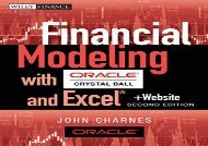 [+]The best book of the month Financial Modeling with Crystal Ball and Excel: + Website (Wiley Finance)  [READ]