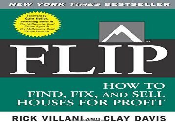 [+]The best book of the month Flip: How to Find, Fix, and Sell Houses for Profit  [FREE]