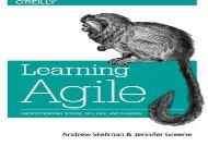 [+]The best book of the month Learning Agile: Understanding Scrum, XP, Lean, and Kanban  [FULL]