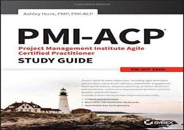 [+]The best book of the month PMI-ACP Project Management Institute Agile Certified Practitioner Exam Study Guide  [FULL]