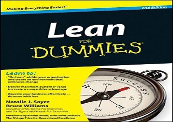 [+][PDF] TOP TREND Lean for Dummies [PDF]