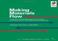 [+]The best book of the month Making Materials Flow: Volume 1.1: A Lean Material-handling Guide for Operations, Production-control, and Engineering Professionals  [NEWS]