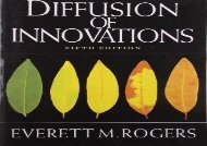 [+]The best book of the month Diffusion of Innovations, 5th Edition  [FULL]