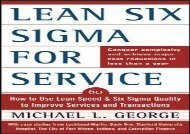 [+]The best book of the month Lean Six Sigma for Service: How to Use Lean Speed and Six Sigma Quality to Improve Services and Transactions  [NEWS]