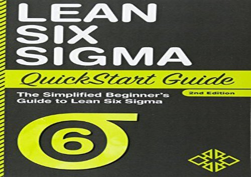 PDF] TOP TREND Lean Six Sigma QuickStart Guide: The