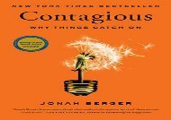 [+][PDF] TOP TREND Contagious: Why Things Catch on [PDF]