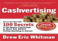 [+]The best book of the month Cashvertising: How to Use More than 100 Secrets of Ad-agency Psychology to Make Big Money Selling Anything to Anyone  [NEWS]