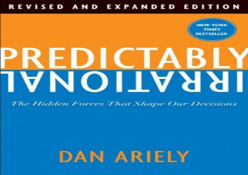 Predictably Irrational Pdf