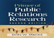 [+]The best book of the month Primer of Public Relations Research  [DOWNLOAD]