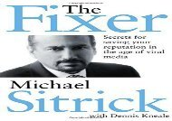 [+]The best book of the month The Fixer: Secrets for Saving Your Reputation in the Age of Viral Media  [FULL]