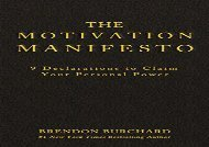 [+]The best book of the month The Motivation Manifesto: 9 Declarations to Claim Your Personal Power  [READ]
