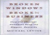 [+]The best book of the month Broken Windows, Broken Business [PDF]