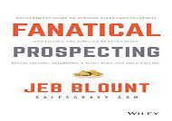 [+]The best book of the month Fanatical Prospecting  [READ]
