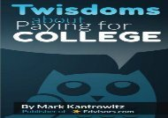 [+][PDF] TOP TREND Twisdoms about Paying for College [PDF]