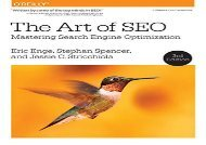 [+]The best book of the month The Art of SEO: Mastering Search Engine Optimization  [DOWNLOAD]