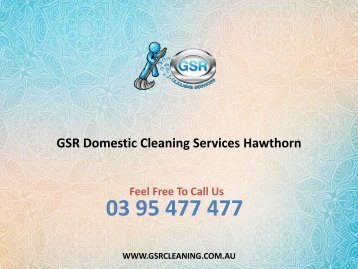 GSR Domestic Cleaning Services Hawthorn