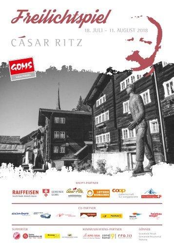 Cäsar Ritz Freilichtspiel 2018