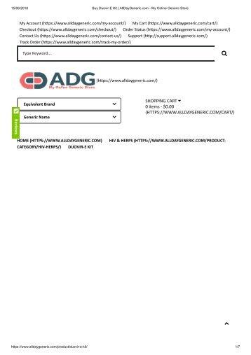 Buy Duovir-E Kit _ AllDayGeneric.com - My Online Generic Store