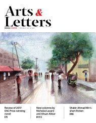Arts & Letters, July 2018