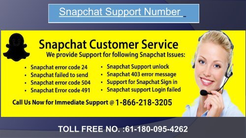 Snapchat Customer Support For Australia
