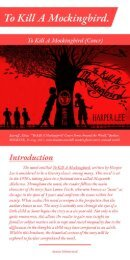 To Kill A Mockingbird Historical Context Brochure