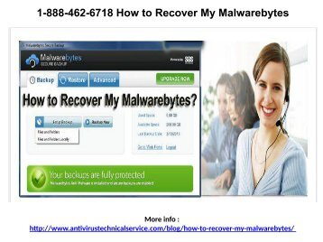 1-888-462-6718 Malwarebytes Tech Support Service