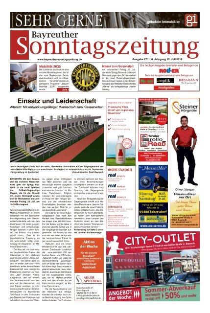 2018-07-15 Bayreuther Sonntagszeitung