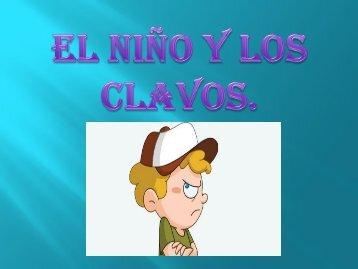 EL NIÑO Y LOS CLAVOS