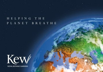 Breathing Planet Programme (pdf) - Royal Botanic Gardens, Kew