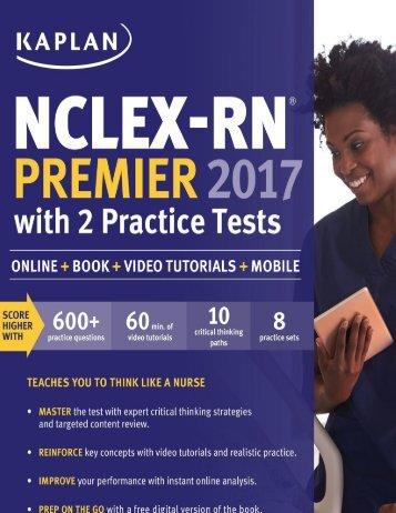 kaplan nclex RN 2017