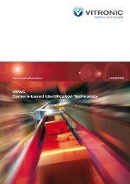 VIPAC Camera-based Identification Technology - Vitronic Dr.